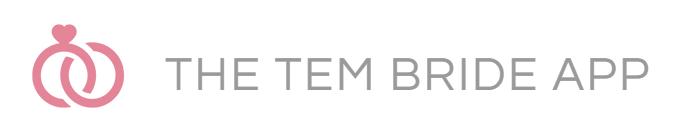 TEM Bride Logo