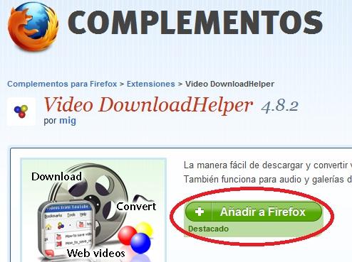 descargar videos de youtube firefox