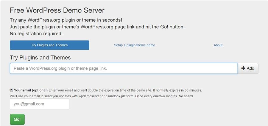 Servidor de pruebas de wordpress para testear plugins y temas ...