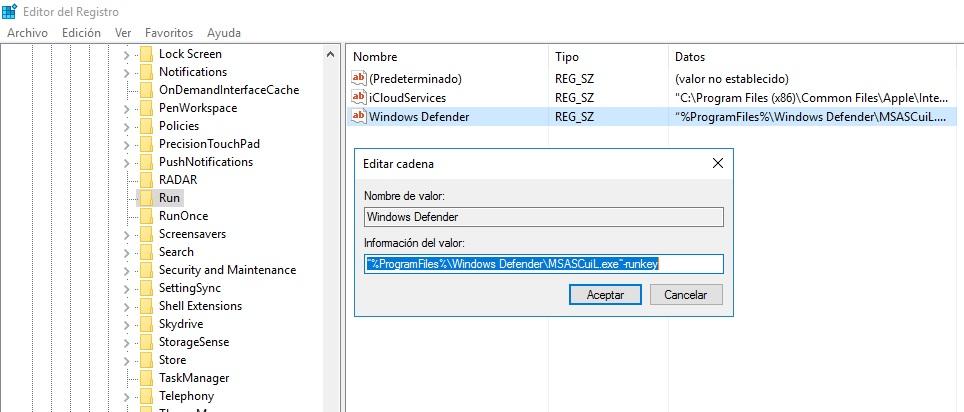 como desinstalar windows defender en windows 10 64 bits
