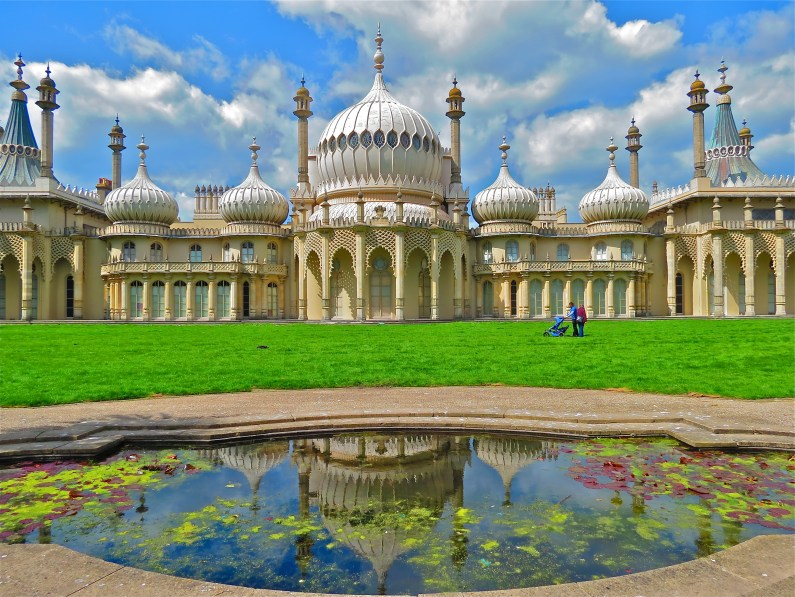 'Brighton's answer to the Taj Mahal'? Complete with a reflecting pool!