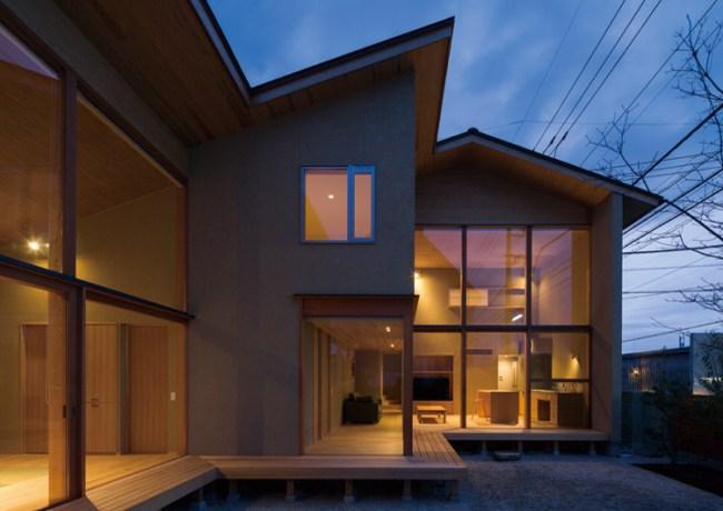 岩曽町・北庭の家 中山大輔建築設計事務所