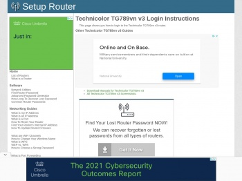 How to Login to the Technicolor TG789vn v3 - SetupRouter