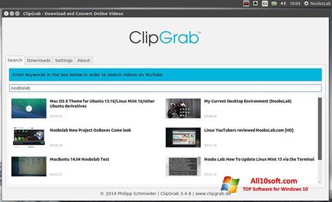Downloaden ClipGrab Windows 10 (32/64 bit) in het Nederlands