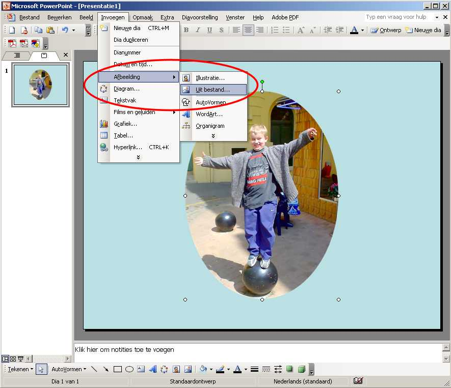 Transparant in PowerPoint  Computer Idee