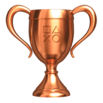 Bronzen trofee