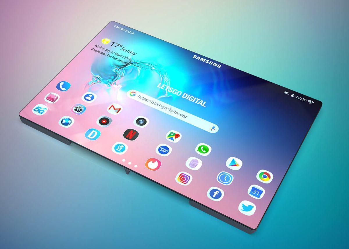 Samsung складная модель