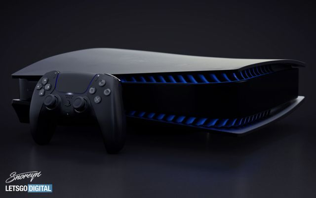 帶有雙重感應控制器的Playstation 5