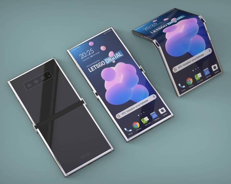 HTC teléfono plegable