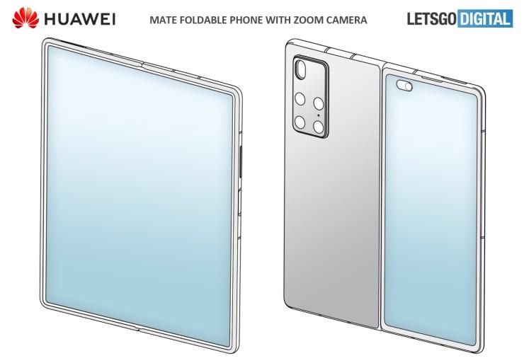 Smartphone plegable Huawei Mate
