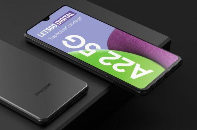 Galaxy A22 5G 智能手機