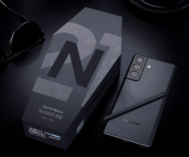 三星 Galaxy Note 21