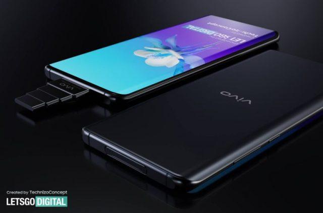 Vivo 智能手機超級變焦彈出式攝像頭