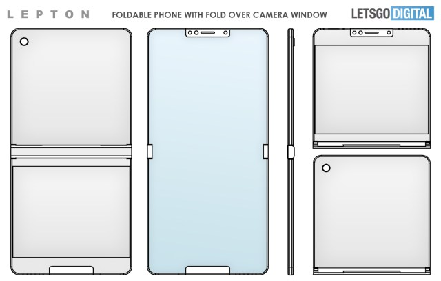 Lepton Flip 可折疊智能手機