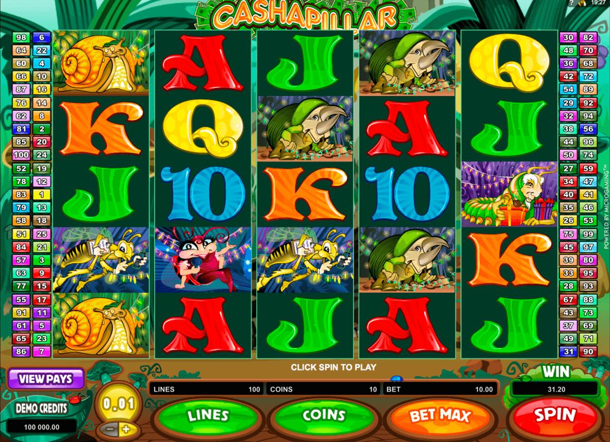 Cashapillar™ Gokkast Spelen Online  Gratis Microgaming