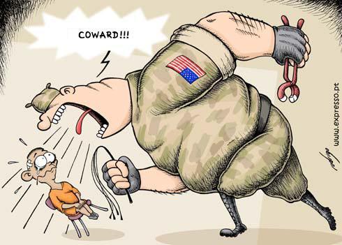 Guantanamo Bay torture, cartoon