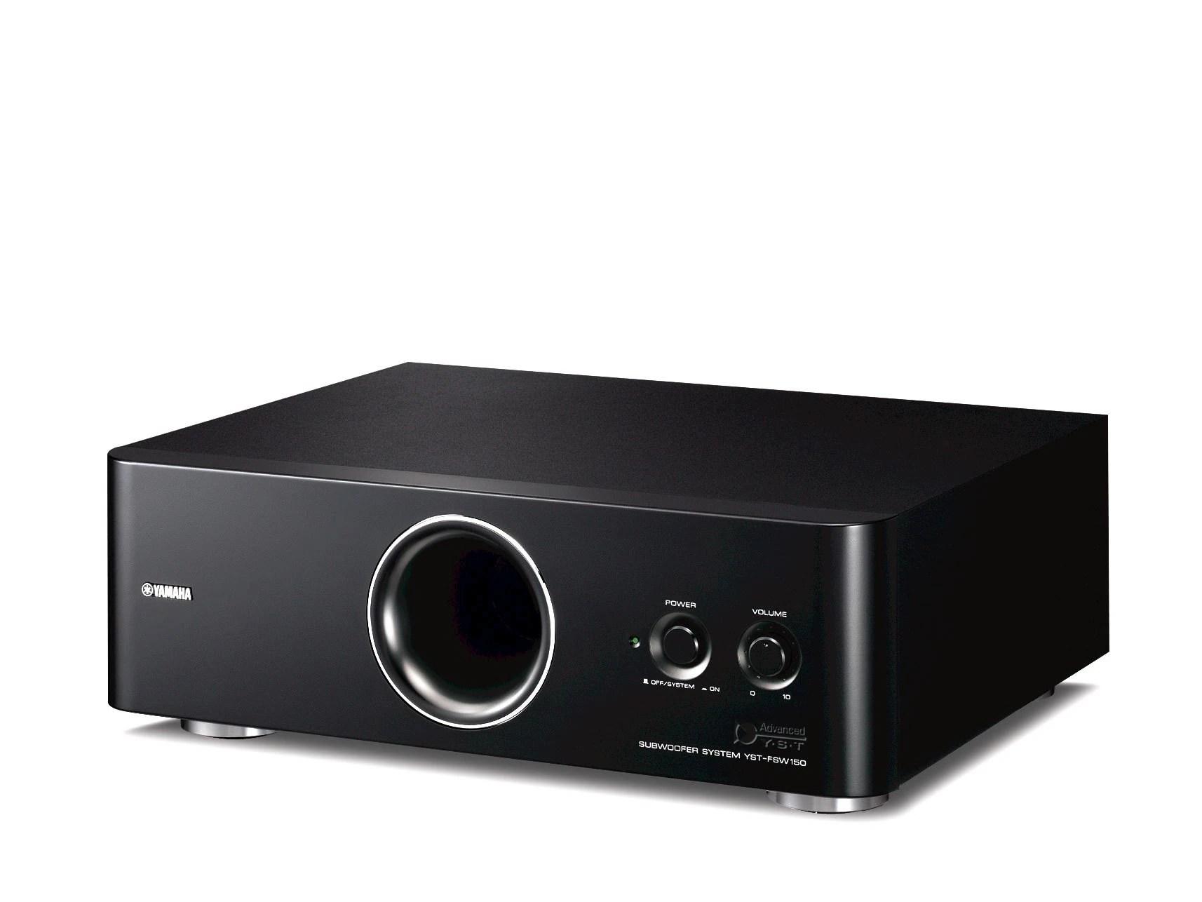 YSTFSW150 Overzicht Luidsprekers Systemen Audio