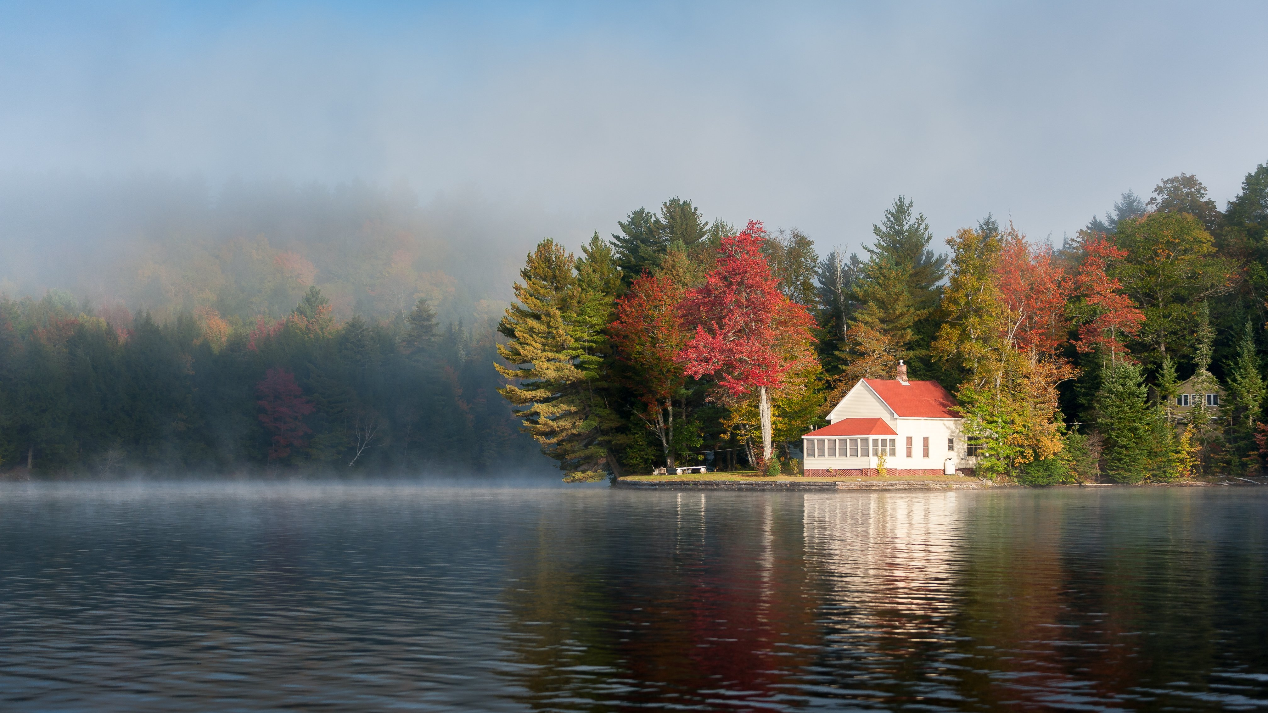 New England Fall Wallpaper Free Maine Scenery