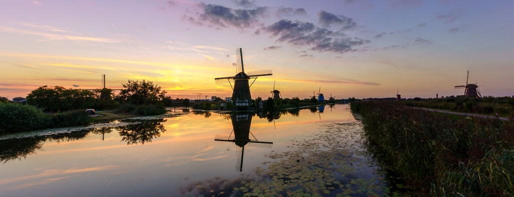 Molens, Kinderdijk, UNESCO werelderfgoed
