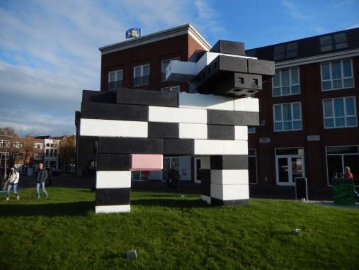 Lego cow in Gouda