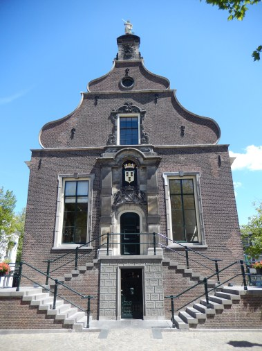 The old town hall of Schiedam (17th century).