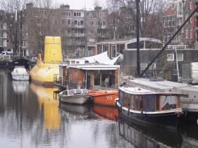 Amsterdam's Yellow Submarine