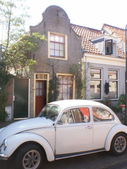 The smallest house in Delft?