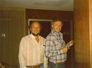Paul Naden (left) & Gerald (Gerry) Lean (right)