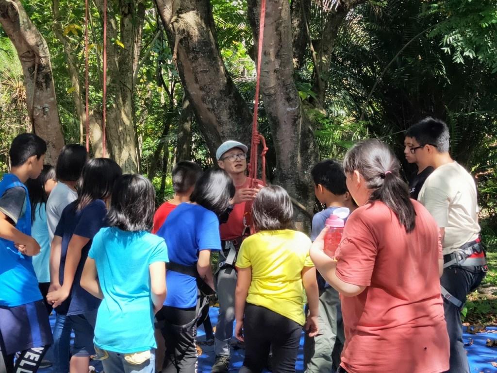 暑期生態小達人志工營隊-攀樹趣(2)