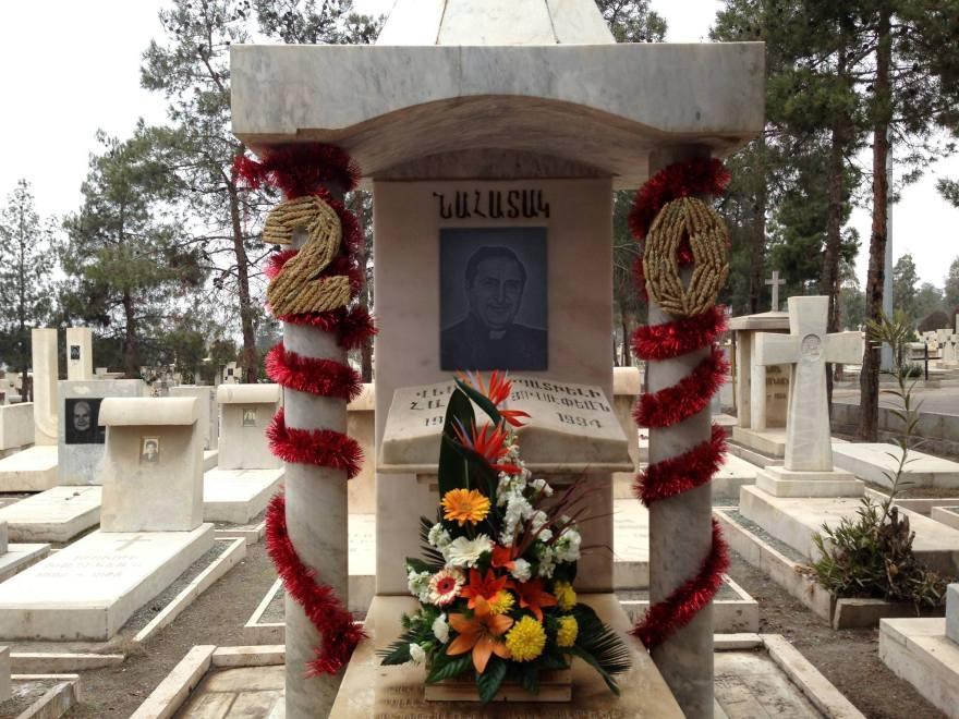 مقبره شهید هایک هوسپیانمهر
