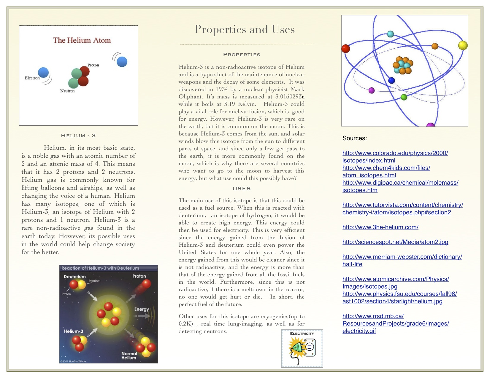 Chemistry Isotopes Brochure Yet To Be Told