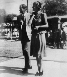 Edna and Norman Manley as a young couple