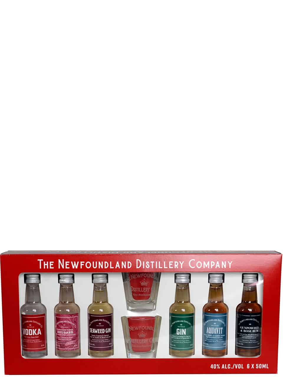 The Newfoundland Distillery Co. Gift Pack 6x50ml