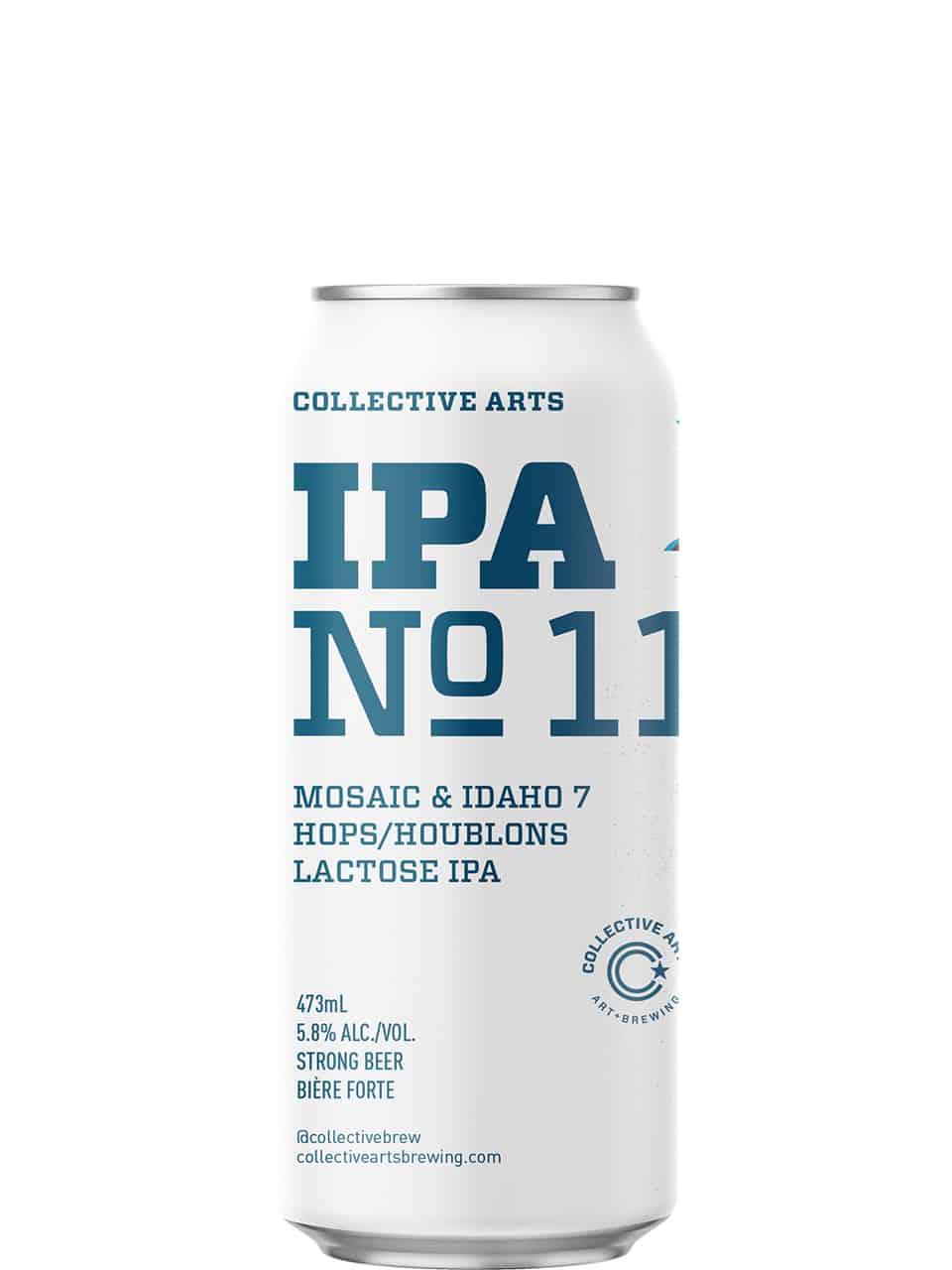 Collective Arts IPA No.11 Lactose IPA 473ml Can