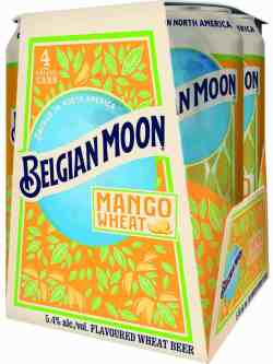 Belgian Moon Mango Wheat 4 Pack Cans
