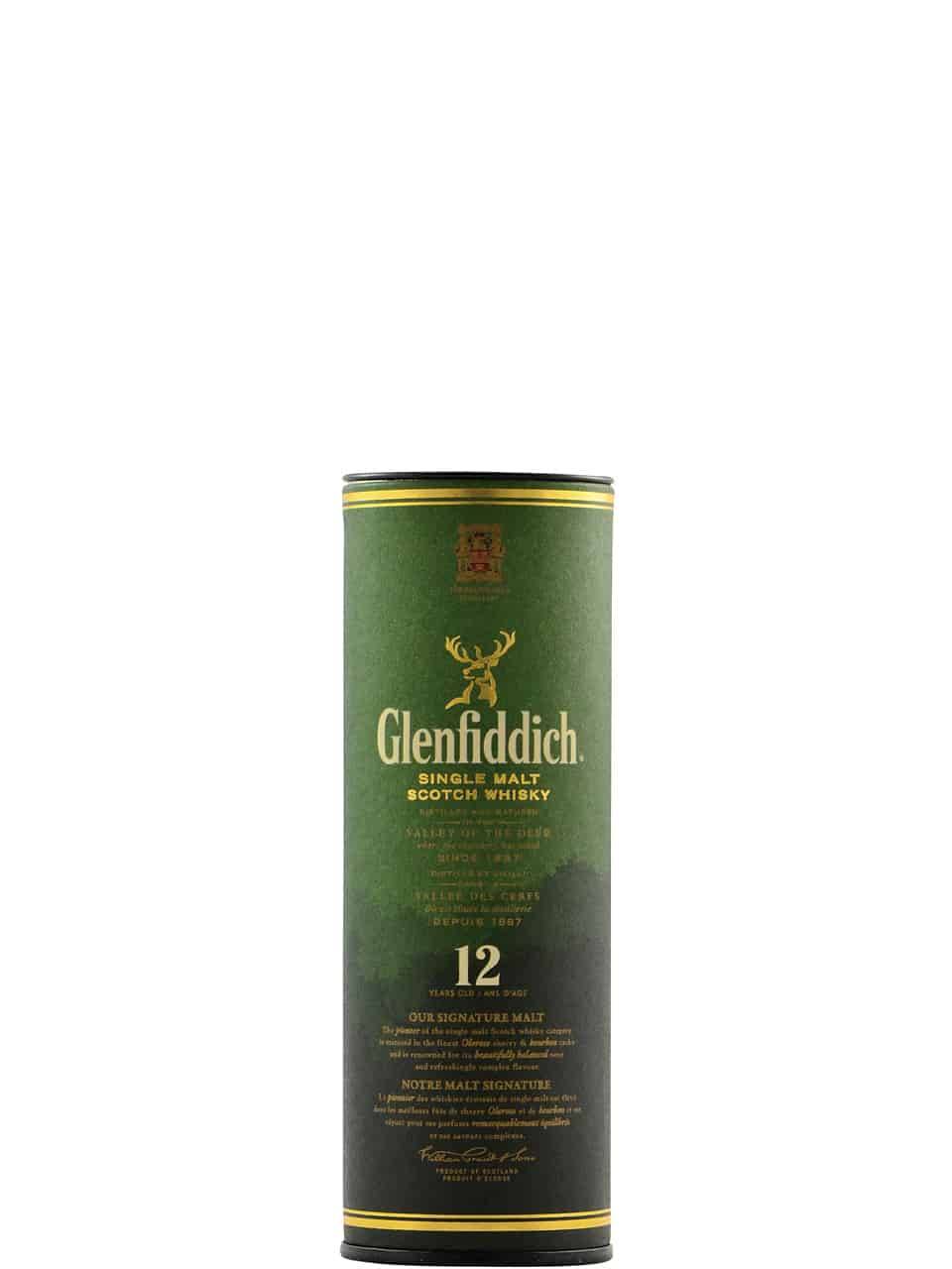 Glenfiddich Single Malt 12YO Scotch