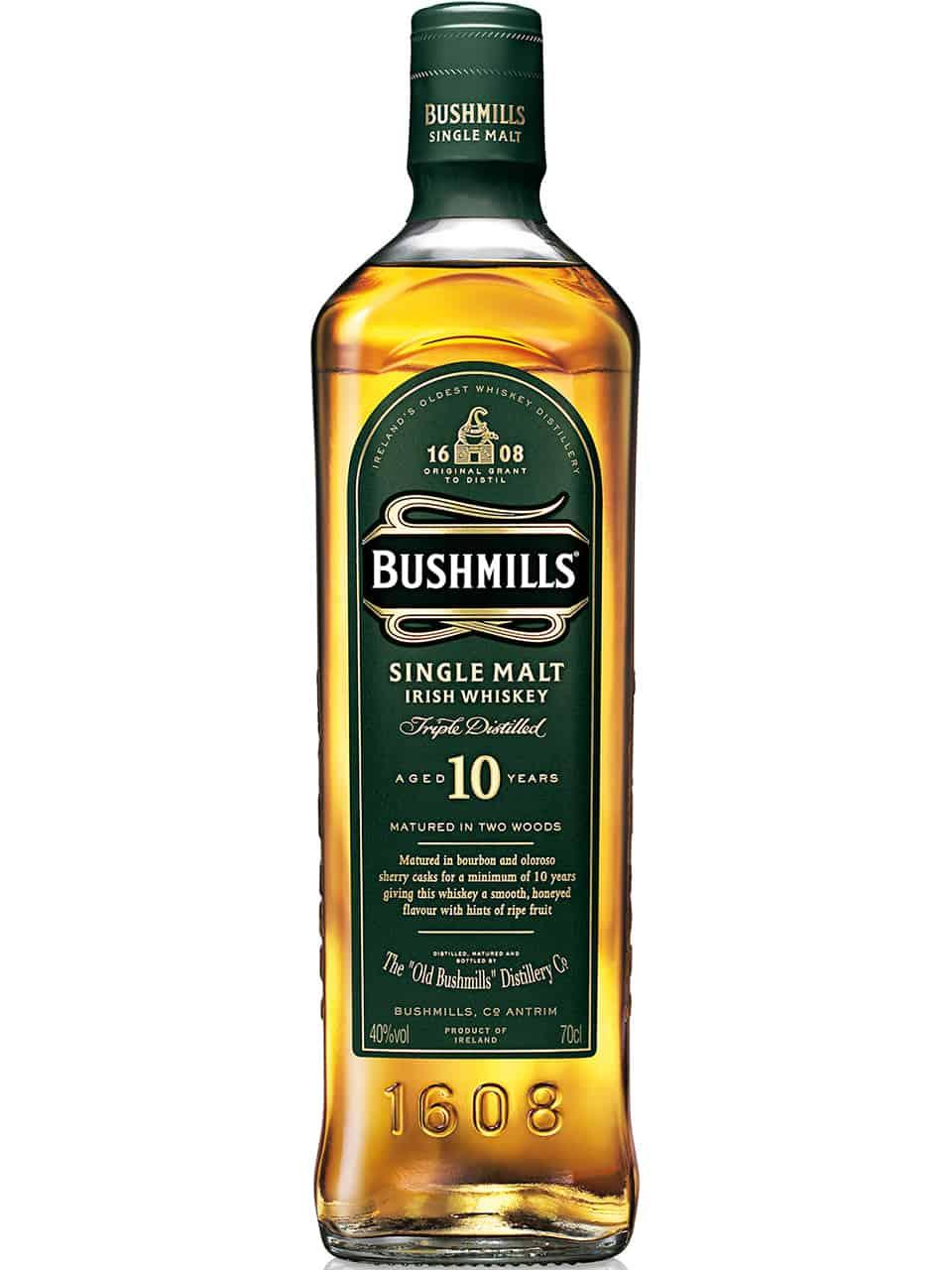 Bushmills Single Malt 10YO Whiskey