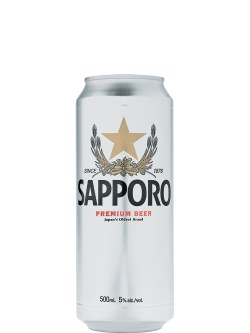 Sapporo Cans 4pk
