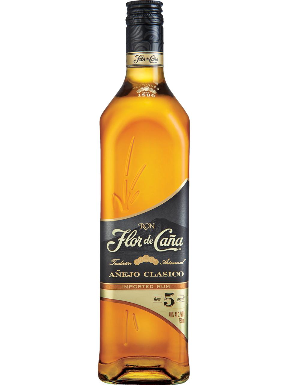 Flor de Cana Anejo Clasico 5 YO Rum