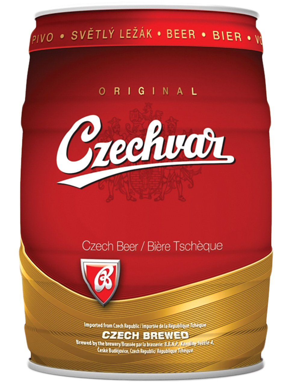 Czechvar 5L Mini Keg