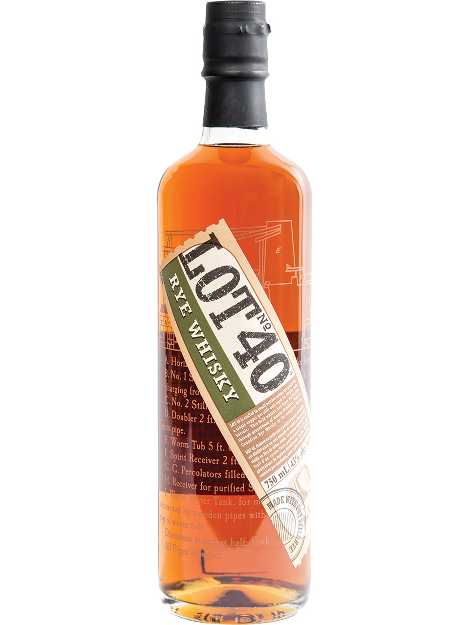Lot 40 No. 40 Rye Whisky
