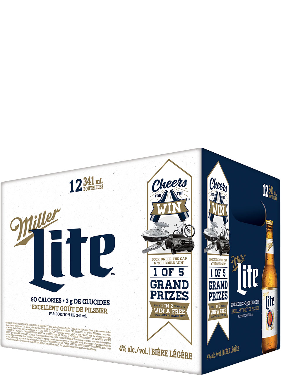 Miller Lite 12 Pack Bottles