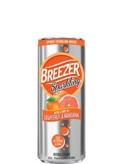 Breezer Sparkling Grapefruit & Mandarin 6pk Cans