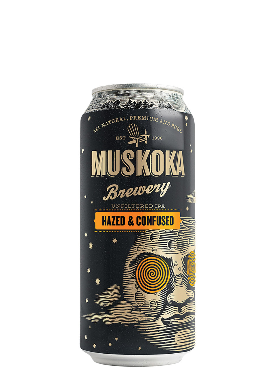 Muskoka Hazed & Confused IPA 473ml Can