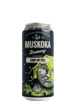 Muskoka Moonlight Kettle Camp Out Pils 473ml Can