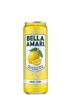 Bella Amari Limone 4 Pack Cans