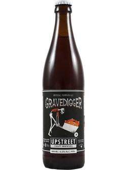 Upstreet Gravedigger Pumpkin Ale 500ml Bottle