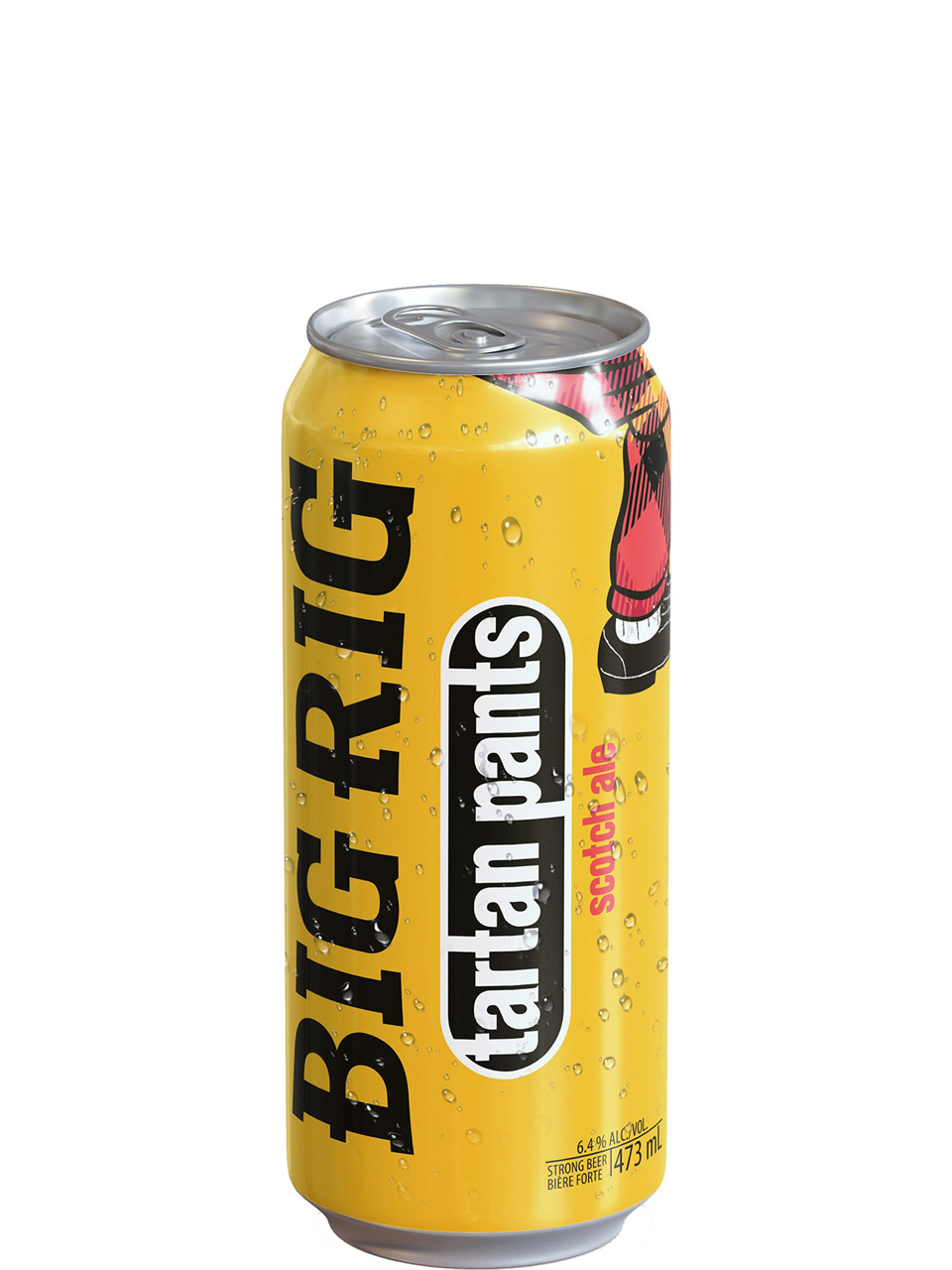 Big Rig Tarten Pants Scotch Ale 473ml Can