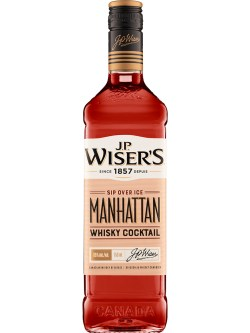 J.P. Wiser's Manhattan Whisky Cocktail