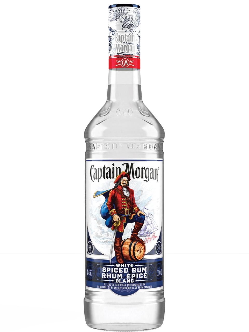 Captain Morgan White Spiced Rum